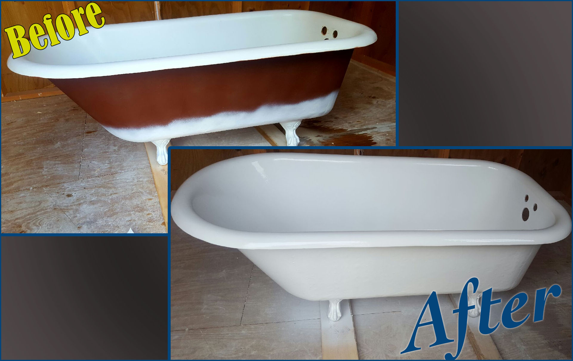 Bathtub Refinishing Near Me - Shower Reglazing - Fiberglass Repair