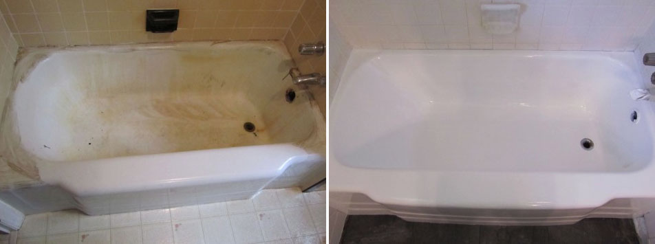 Having Your Bathtub Refinished Makes It More Durable And Gives It A Longer  Life. This Will Save You Money Down The Road And Give You A More Attractive  Tub ...