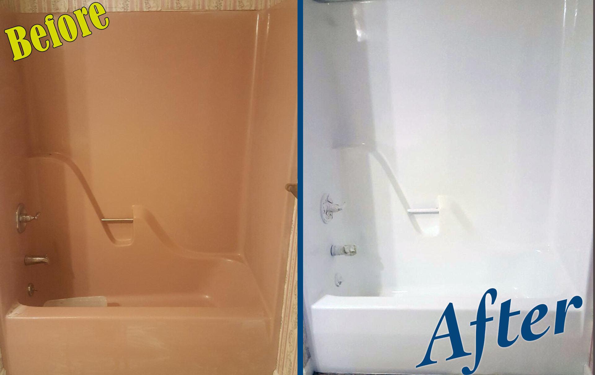Bathtub Refinishing Pro Charlotte - 22 years Experience - 704-275-9511